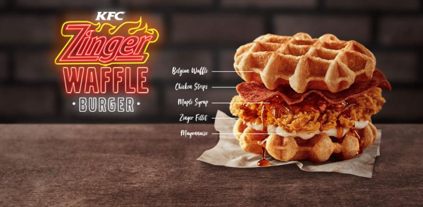 Is KFC Malaysia's Zinger Waffle Burger really worth yourcalories?