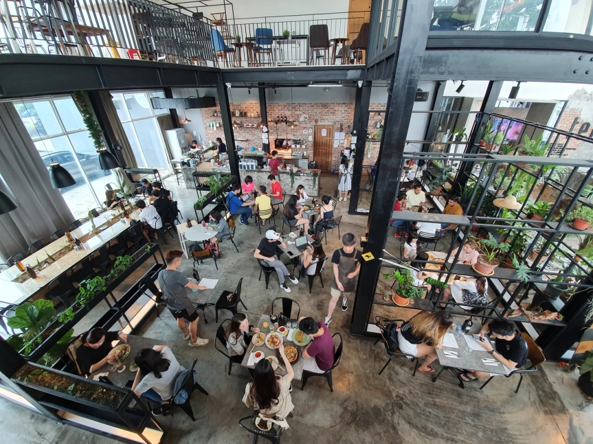 People and Places – Industrial Chic Cafe @ Taman Mount AustinJohor