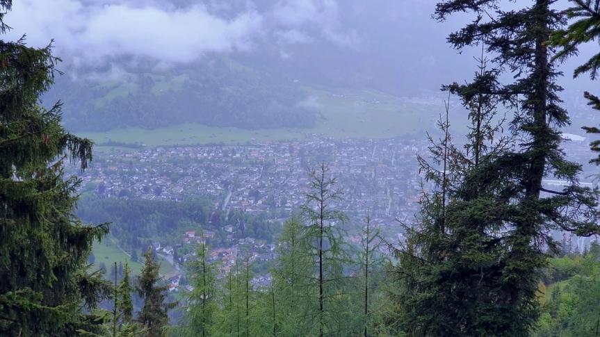 Climbing Wank Mountain in Garmisch-Partenkirchen