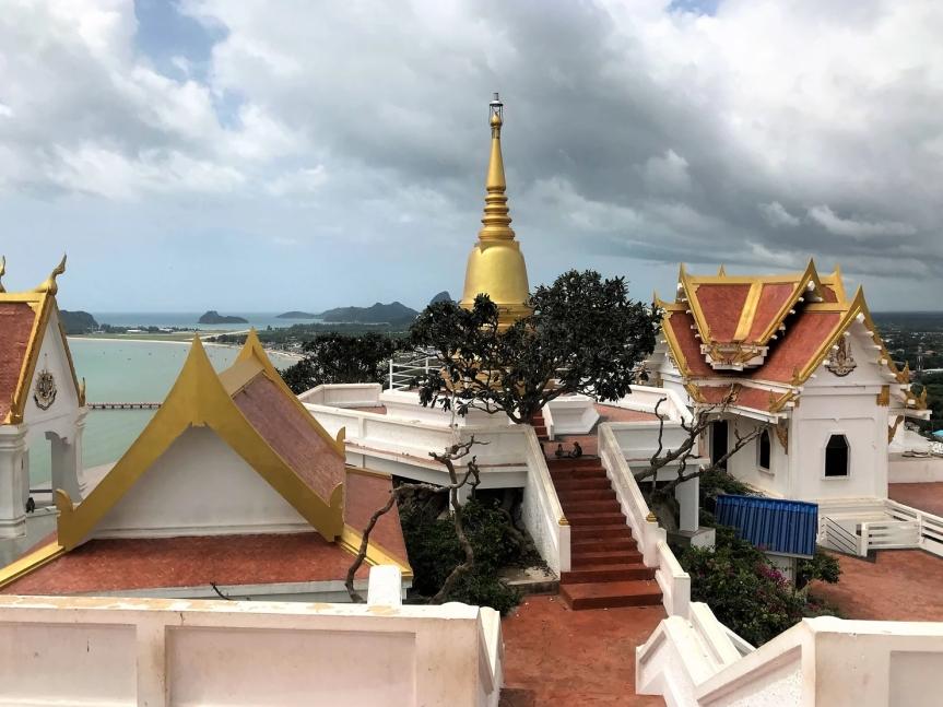 Conquer Khao Chong Krajok monkey temple with 396 steps in Prachuap KiriKhan